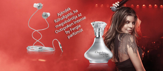 Avon Outspoken Intense by Fergie