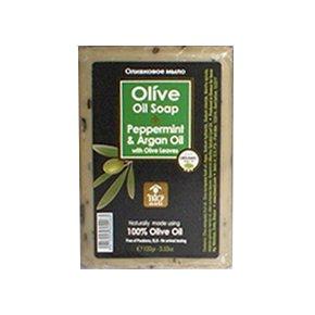 100% olivaszappan borsmenta-argán olaj - 100g