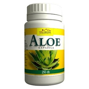 Aloe Vera kapszula - 250 db kapszula