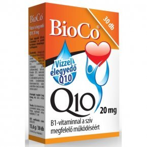 20 mg-os Vízzel elegyedő Q10  készítmény - 30db kapszula