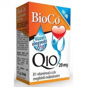 20 mg-os Vízzel elegyedő Q10  készítmény - 60db kapszula
