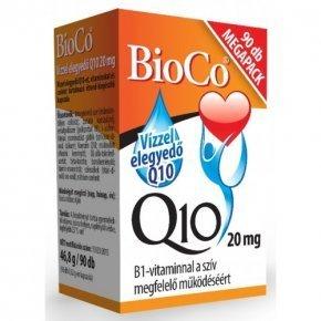 20 mg-os Vízzel elegyedő Q10  készítmény - 90db kapszula