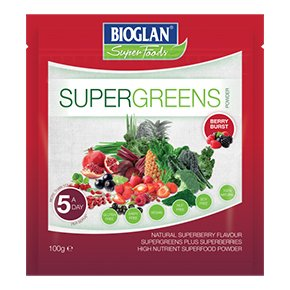 Supergreens por berry boost - 100g