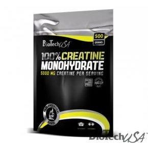 100% Creatine Monohydrate por - 500g zacskós