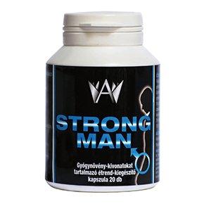 Strong Man potencianövelő és férfivitamin kapszula - 20db