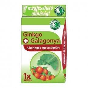 Ginkgo és galagonya kapszula - 30db