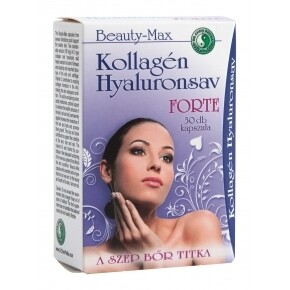 Beauty-max kollagén hyaluronsav forte kapszula - 30db