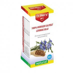 Hidegen sajtolt lenmag olaj - 50 ml
