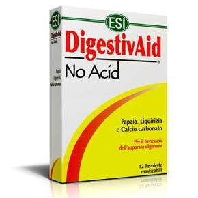 Digestiv Aid - No Acid lúgosító-savlekötő tabletta - 12db