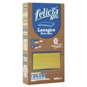 Kukorica-rizs lasagne gluténmentes tészta - 250g