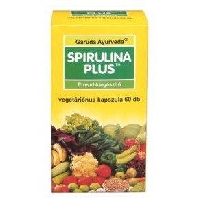 Ayurveda spirulina plus vegán kapszula - 60db