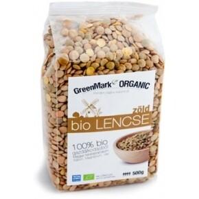 Bio lencse zöld - 500g