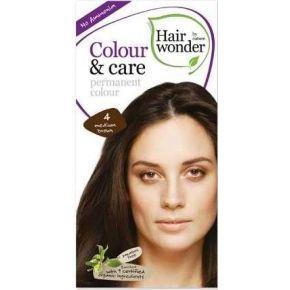 Colour&care 4 középbarna hajfesték