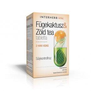 Vital fügekaktusz & zöldtea tabletta - 60 db