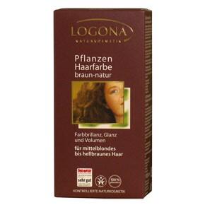 Növényi hajfesték - natúrbarna - 100 g