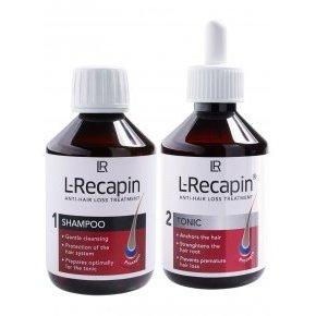 L-Recapin Sampon + Tonic - 2x200ml