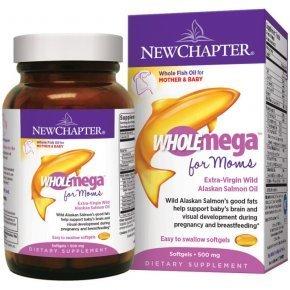 Wholemega for Moms (Prenatal) halolaj kismamáknak kapszula - 90 db