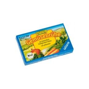 Zöldségleveskocka sószegény BIO