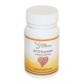 Q10 koenzim 60mg tabletta - 60db