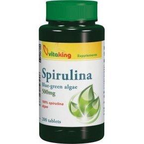 100% Spirulina alga 200db tabletta - 200 db tabletta